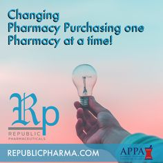 Changing pharmacy purchasing one pharmacy at a time. Republic Pharmaceuticals.