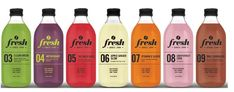 Photo credit: Jay Eckert, Parachute Design Fresh, Toronto's modern vegan food and gourmet juice restaurant has launched their first curated collection of 100% raw and organic cold pressed juices.