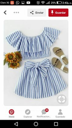 Spring Outfits, Kids Outfits, Cute Outfits, Striped Playsuit, Baby Couture, Cute Toddlers, Western Outfits, Clothing Patterns, Baby Dress