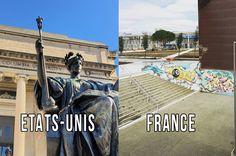 Les différences entre les universités françaises et américaines