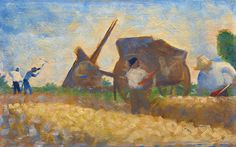 Georges Seurat 048 - The Laborers 1883, National Gallery of Art Washington, DC.