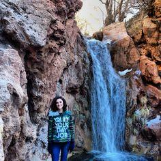 Beautiful Waterfall, Alamogordo New Mexico