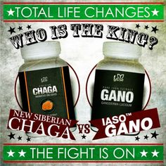 Total Life Changes is the first MLM to release 100% pure wild Siberian Chaga extract. TLC's release of this mighty new medicinal mushroom is gaining worldwide attention. But is it hands down the new King of Herbs? That's for you to decide. What we can say is that both Iaso™ Chaga and Iaso™ Gano are two very powerful extracts that have scientists all over the globe excited about the tremendous results and healing powers of these medicinal mushrooms.