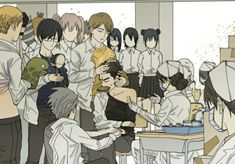 19 Days Characters, Odd Couples, Romance, Animal Logo, Anime Kawaii, School Life, Funny Moments, Memes, Manhwa