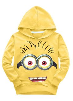 The Cutest Minions Children's Hoodie Ever!