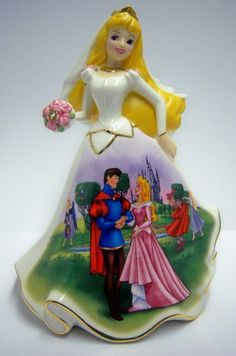 Happily Ever After Sleeping Beauty Disney Bell Figurine Dresses and Dreams   eBay