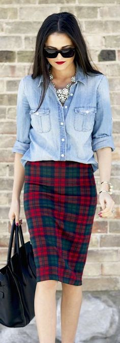 15 Ways to style your Denim shirt!