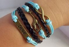 "Check out Giraffe bracelet --- bronze love, giraffe, infinite, black and blue woven bracelet, love animals, Protec"" Decal @Lockerz http://lockerz.com/d/27169728?ref=gabriel.iordache2396"