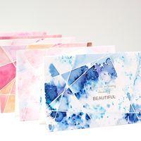 DIY watercolor cards pigment powder pixie paint