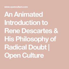 descartes method of radical doubt