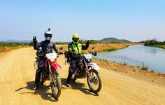 3 DAY MEKONG ADVENTURE™ - FROM APRIL 2017. 10 boat trip. 2 nights homestay. Off-roads everyday. Japanese Honda dirtbikes only.  More details: https://plus.google.com/+VIETNAMRIDERTravel/posts/7RDYrybTSGg