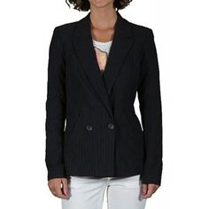 Sacou Dama VERO MODA Pinstripe Iris Iris, Blazer, Jackets, Fashion, Down Jackets, Moda, Fashion Styles, Blazers, Fashion Illustrations
