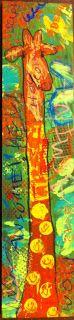 Angela Anderson Art Blog: Freestyle Giraffes - Kids Art Class