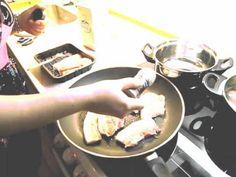 ▶ Danish Lesson # 14 - How To Cook Stegt flæsk med persillesovs - YouTube