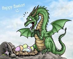 Easter-Dragon