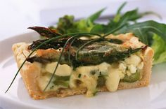 Asparagus and Brie tart recipe - goodtoknow