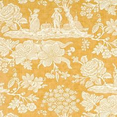La Declaration Gold by Pierre Deux...I made my curtains out of this fabric. I miss Pierre Deux...wish they were still in business!