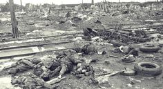 The Master Race in bundles: German dead in the necropolis of Stalingrad after the battle's end, February 1943.