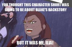 You thought it was a black trailer   RWBY   Know Your Meme
