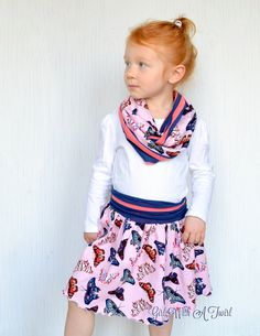 Girls Boutique Outfit Butterfly Outfit Winter by GirlWithATwirl
