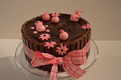 Gâteau, la baignade des cochons