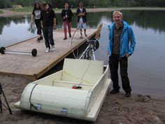 How to Build a Recumbent Pontoon Pedal Boat - DIY | Pedal boat ...