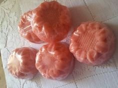 Cold process luxury natural rose soap by Soaprincess on Etsy, €4.00