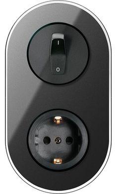 für die dunkle Küchenrückwand Renova: Schalterprogramm im Retrodesign neu von Schneider Electric
