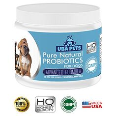 Uba Pets Probiotics for Dogs - Helps Combat Bad Breath, Poor Digestion and Skin Allergies. Daily Supplement with 74 Natural Minerals Probiotics For Dogs, Green Lipped Mussel, Dog Nutrition, Pet Supplements, Bad Breath, Allergies, Dog Food Recipes, Special Deals, Dog Beds