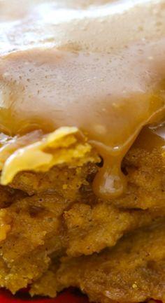 Sticky Toffee Pumpkin Cake