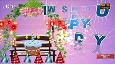 36 Best Birthday Video Greetings Images Happy Birthday Video