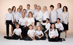 large family studio portraits - Google Search