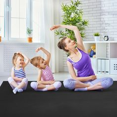 2 adjustable Velcro straps can help you better store our yoga mat or easily carry it to your destination. Floor Workouts, Gym Workouts, Thick Exercise Mat, Heated Mattress Pad, Gymnastics Mats, Picnic Mat, Crawling Baby, Boring Life, Pvc Material