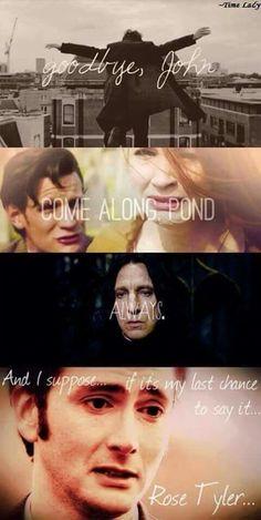 I cry...