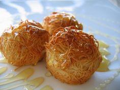 Savory Kataifi Balls with Cheese