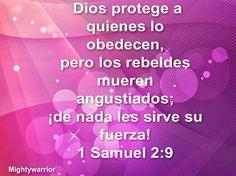 """JESUS PODEROSO GUERRERO: 1 Samuel 2:9 ~~~"""" Proteccion de Dios """""""