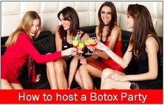 FREE BOTOX?? YES!! Host a Botox Party at our Office, and earn Free Botox! It's that easy! Bring 4-5 people to a party, pamper yourselves for the evening, and earn free Botox. Call us for more information. We offer many aesthetic services that can be offered at your Botox Party. 423-994-8243 Masseymedical.com Dermal Fillers, Chemical Peel, Laughter, Have Fun, Facial, Cocktails, Medical, Weight Loss, Party