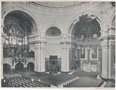 Berlin um 1907 Berliner Dom Innenansicht