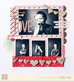 Love...Valentine's Day Layout