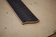 Custom Cocobolo Guitar Construction, Lichty Guitars