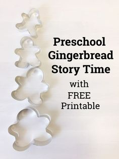 Gingerbread Story Time with Free Printable from My Storytime Corner