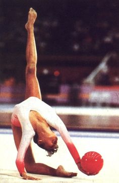 Lori Fung of Canada made history at the 1984 Olympics in Los Angeles, where she took the first gold medal awarded in rhythmic gymnastics in Games history.
