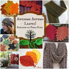 Awesome Autumn Leaves! 10 Free Crochet Patterns