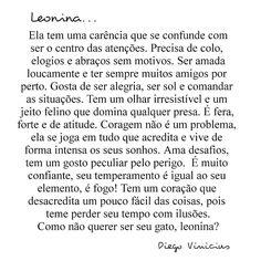 """6,812 curtidas, 1,519 comentários -  Diego Vinicius  (@escritordiegovinicius) no Instagram: """"Leoninas.... !!!!! Amanhã tem capricórnio ( Lembrando que já fiz de vários outros signos, restando…"""""""