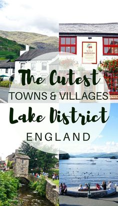 Cutest Villages in the Lake District & Picturesque Towns in Cumbria Cutest Towns and Villages in the Cumbria, Backpacking Europe, British Travel, Travel Uk, Travel England, Luxury Travel, Bucket List Europe, Hadrian's Wall, Northern England