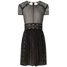 Burberry Silk Lace Shift Dress ❤ liked on Polyvore featuring dresses, burberry, vestidos, shift dress, silk shift dress, silk lace dress, silk dress and lace dress