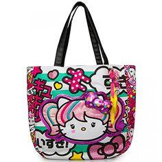 4b957e54f89b Hello Kitty Japanimation Tote Shoulder Bag