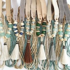 Twine & Twig Trail Tail necklaces