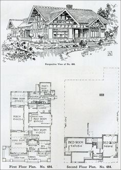 1000 images about craftsman tudor architecture on for Tudor revival house plans