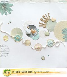 design&scrapbook by Lucia Barabas: Citrus Twist Kits August Reveal